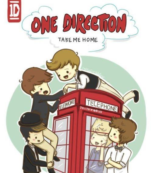 One Direction images Take Me Home-Draw fond d'écran and