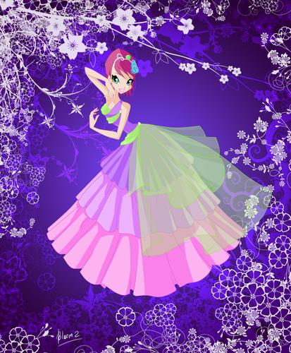 Tecna Harmonix Dress. - the-winx-club Fan Art