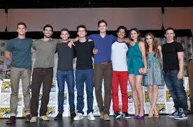 Teen serigala Comic Con Cast