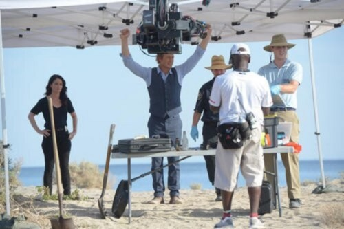 The Mentalist- Season 6- Behind the Scenes Pictures