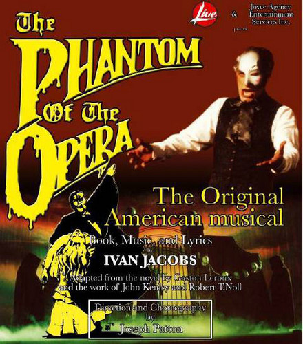 The Phantom of the Opera Ivan Jacobs LP Cover