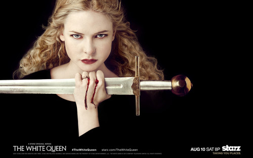 The White Queen BBC wallpaper titled The White Queen