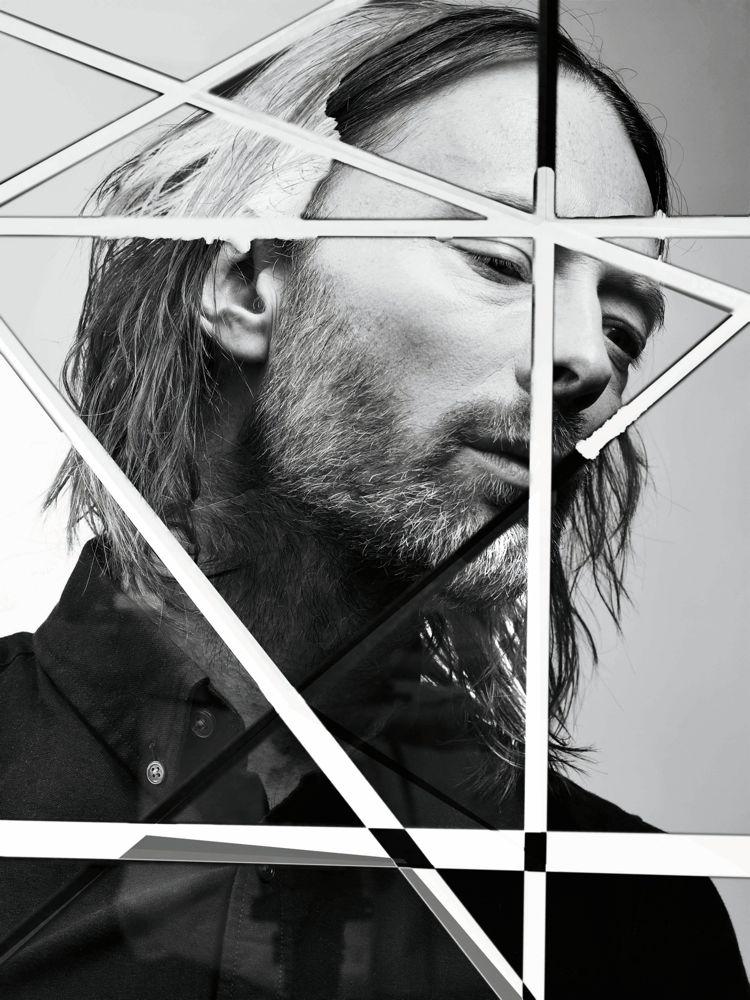 Thom Yorke// Interview Magazine August 2013