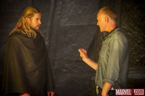 Thor: The Dark World On Set