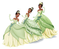 Tiana's Dress Evolution