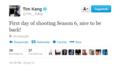 Tim Kang's twitter