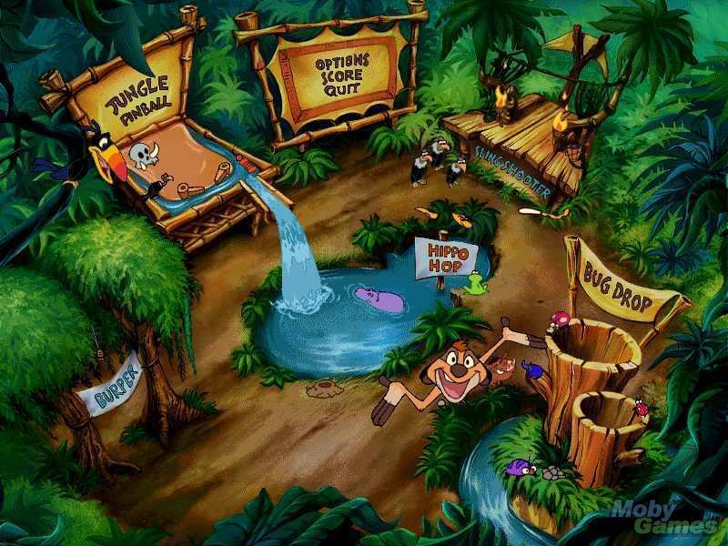 Timon Amp Pumbaa S Jungle Games The Lion King Photo
