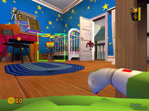 Toy Story Hintergrund containing a living room, a family room, and a höhle, den titled Toy Story 2: Buzz Lightyear to the Rescue!