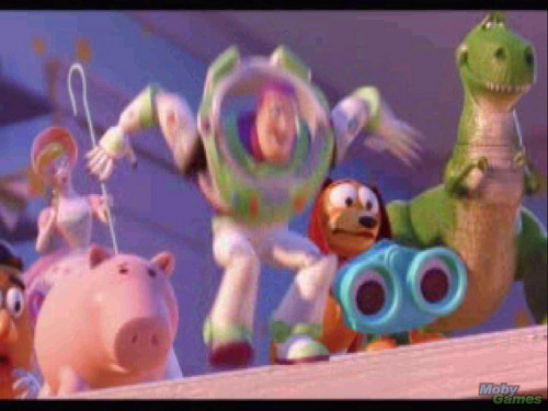 Toy Story Hintergrund called Toy Story 2: Buzz Lightyear to the Rescue!