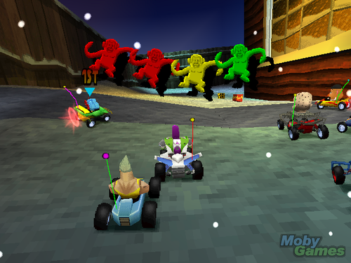 Toy Story wallpaper containing a tricycle called Toy Story Racer
