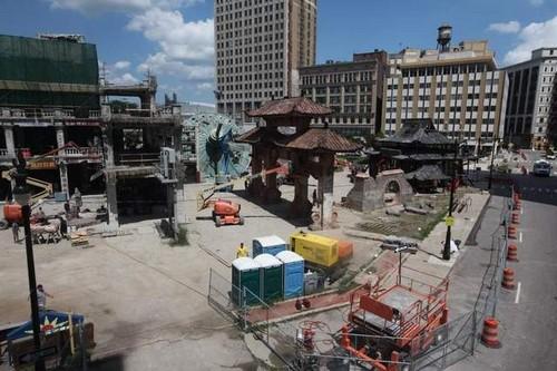 Трансформеры 4 Detroit Set