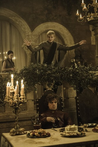 Tyrion Lannister wallpaper called Tyrion Lannister & Joffrey Baratheon