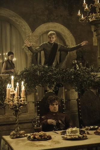 Tyrion Lannister wallpaper titled Tyrion Lannister & Joffrey Baratheon