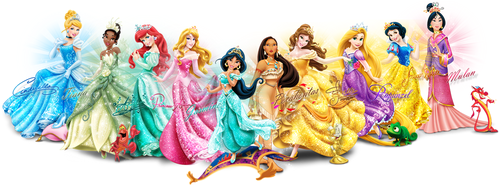 Disney Princess kertas dinding called Ultimate Disney Princess Lineup