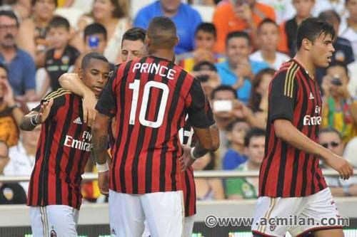 Valencia CF VS AC Milan 1-2, guinness International Champions Cup