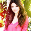 Victoria Justice photo containing a portrait titled Victoria Justice icones