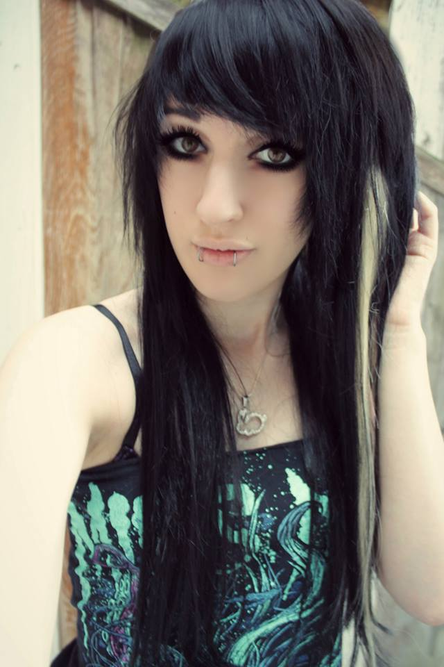 Emo Black And Blonde Hair 65