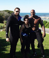 Wade Barrett,Titus O'Neil,Kaitlyn - wade-barrett photo