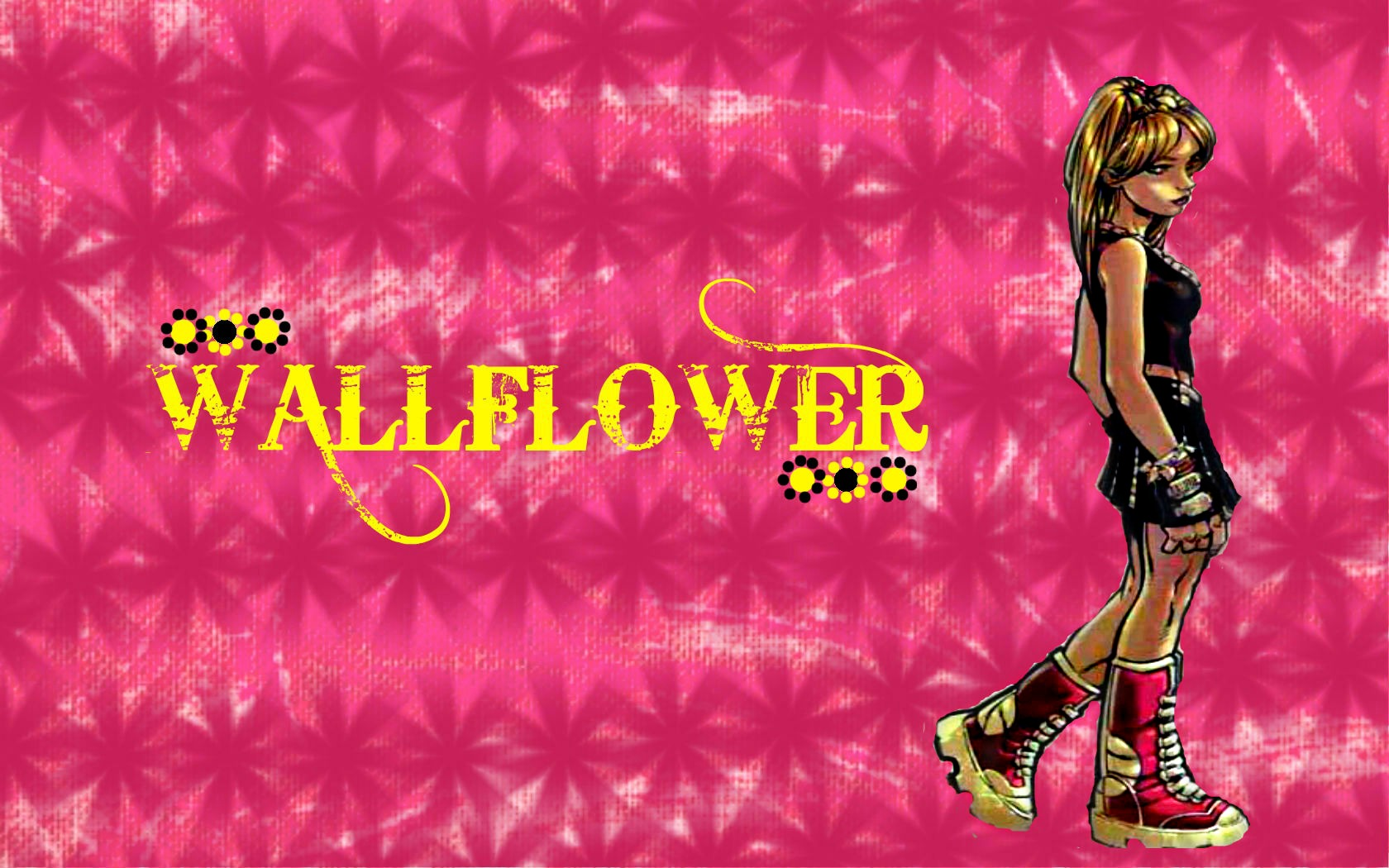 Wallflower Laurie Collins Pink Wallpaper X Men Wallpaper Fanpop