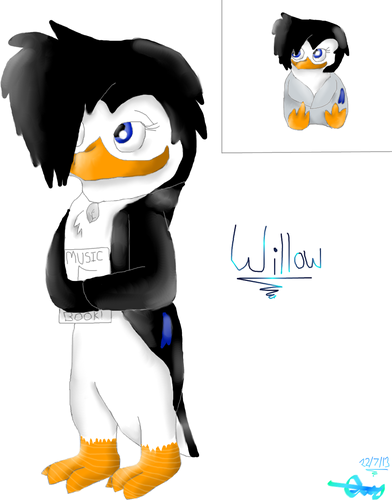 Willow's new look. :D
