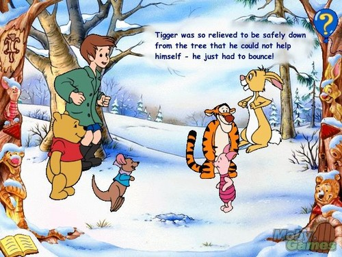 Winnie-the-Pooh karatasi la kupamba ukuta probably with anime titled Winnie the Pooh and Tigger Too