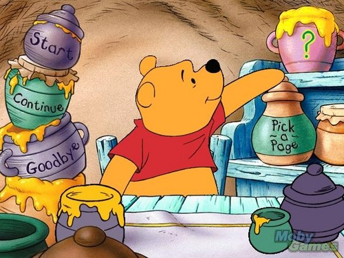 Winnie the Pooh wolpeyper with anime called Winnie the Pooh and Tigger Too