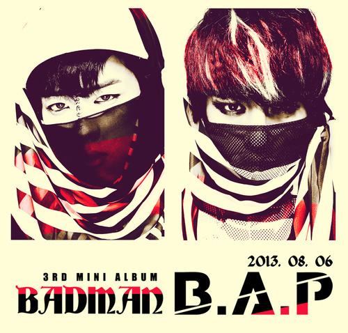 Youngjae and Daehyun 'Badman' teaser fotos