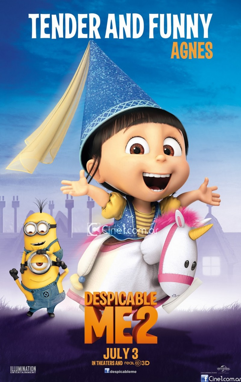 despicable me 2 club agnes posterDespicable Me 2 Edith Poster