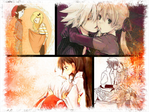 anime/cartoon couples
