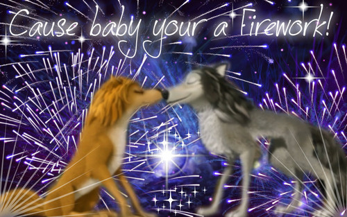 baby your a Firework (not my best but, its still good)