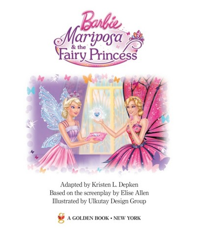 Барби mariposa the fairy princess
