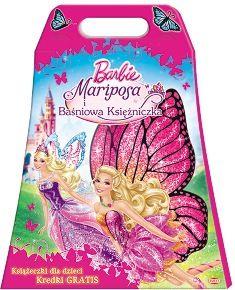 búp bê barbie mariposa the fairy princess sách