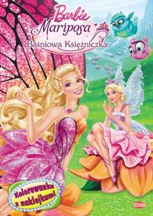 barbie mariposa the fairy princess books