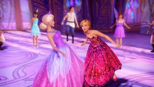 বার্বি mariposa the fairy princess video musical