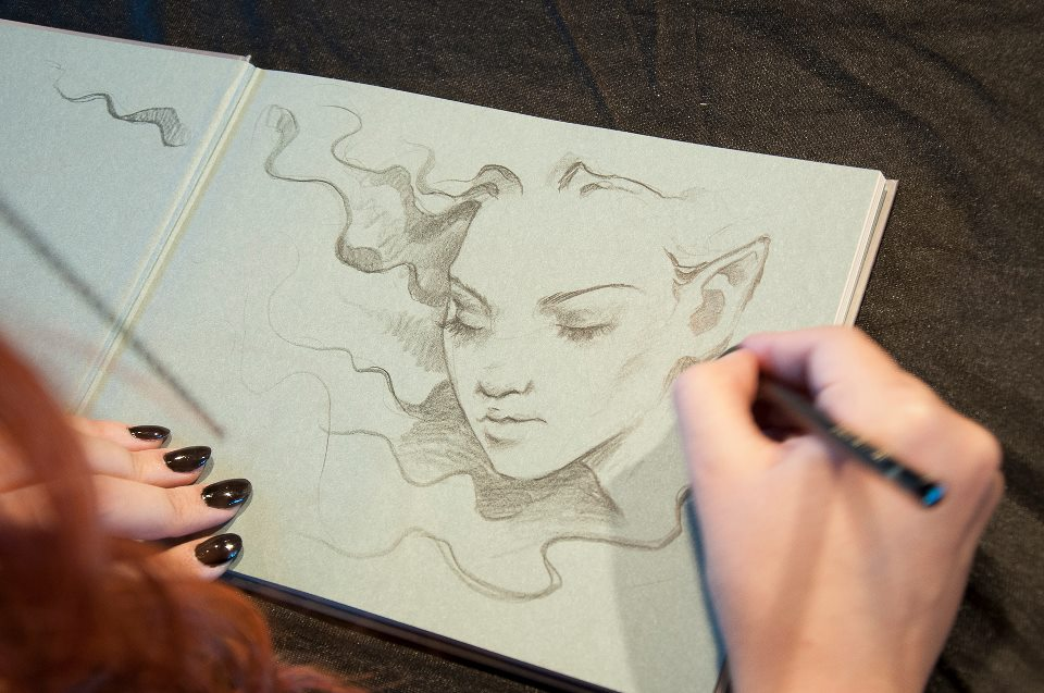 drawing - Victoria Fra...