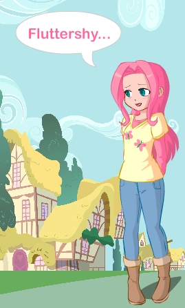 dress up fluttershy