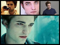 edward and robert  - robert-pattinson-and-edward-cullen fan art