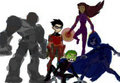 evil titans - teen-titans fan art