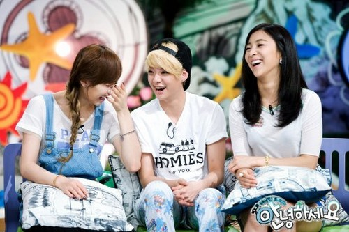 f(x)'s pratonton pictures from KBS' 'Hello'