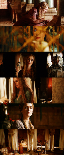 Cersei Lannister → first & last scenes to 日付