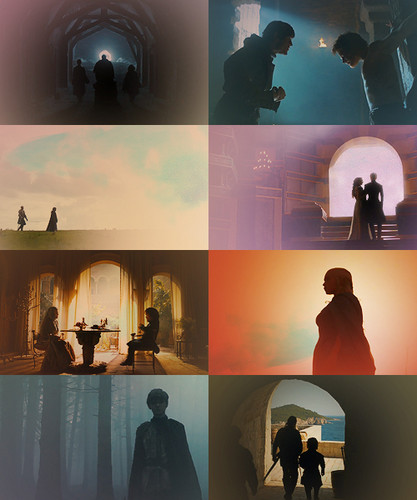 Game Of Thrones + Silhouettes