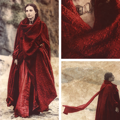 Game of Thrones wallpaper with a cloak titled Melisandre