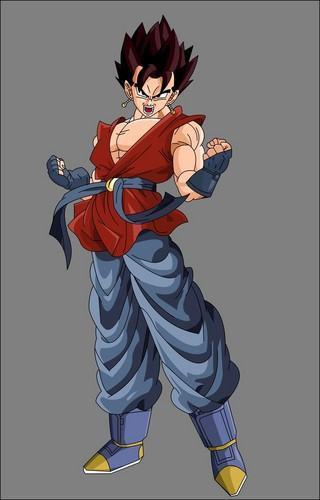 Dragon Ball Z karatasi la kupamba ukuta containing anime entitled gt vegito
