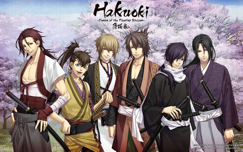 Hakuouki (Демоны бледной сакуры) shinsengumi kitan