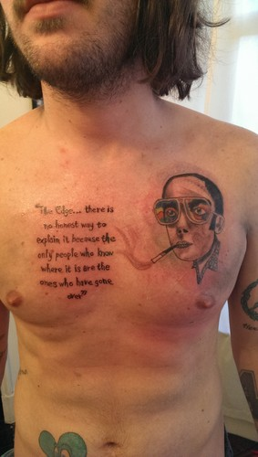Hunter s thompson images hunter s tattoo hd wallpaper and for Hunter s thompson tattoos