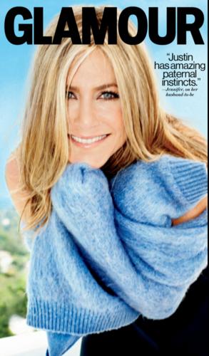 jennifer aniston in 2013 GLAMOUR magazine