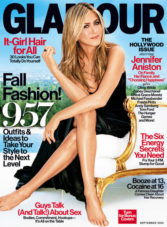 Jennifer Aniston's New Magazine Cover