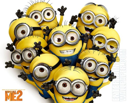 despicable me 2 club wallpaper entitled minions