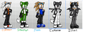 my sonic fc boys - sonic-fan-characters fan art