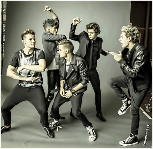 one direction Teen Vogue 2013